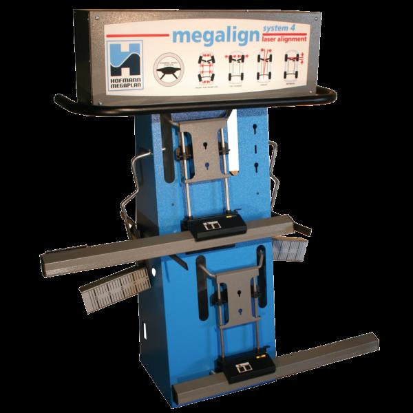 megaline system 4W laser wheel aligner machine for garages from Tyre Bay Direct.