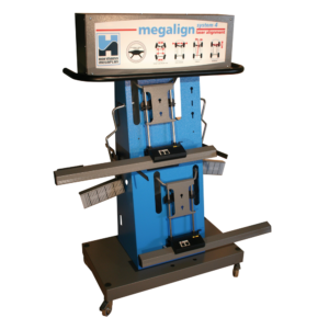 megaline system 4T laser wheel aligner