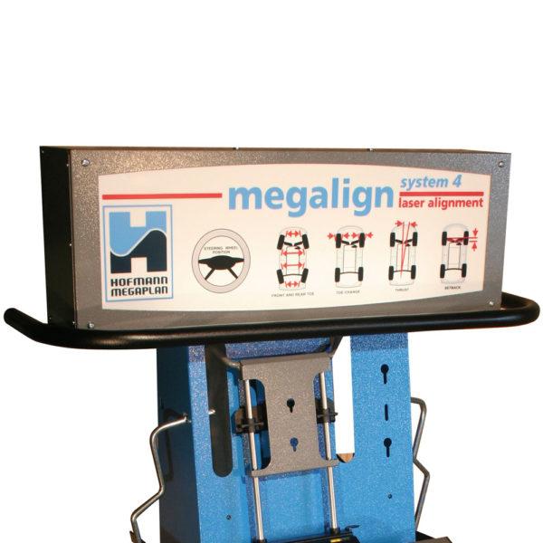 megaline system 4W laser wheel aligner machine lightbox from Tyre Bay Direct