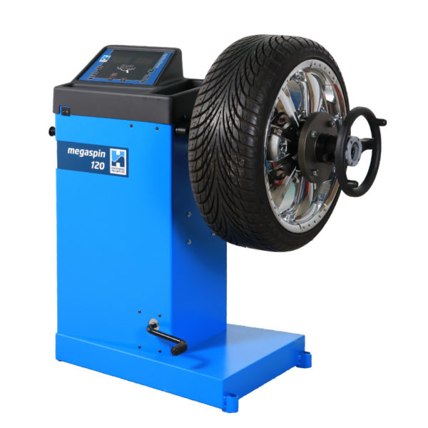 The megaspin 120 Wheel Balancer from Hofmann Megaplan