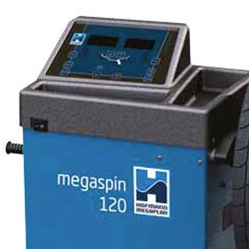 Hofmann Megaplan megaspin 120 Wheel Balancer screen