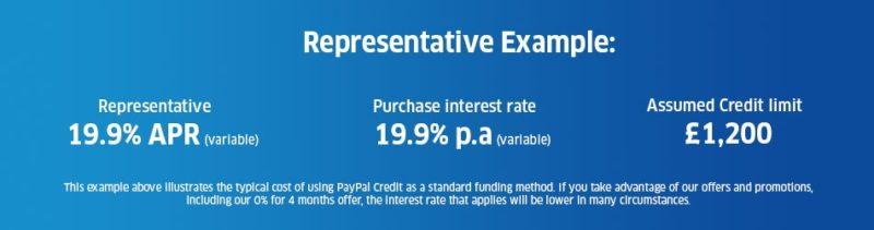 paypal representative example