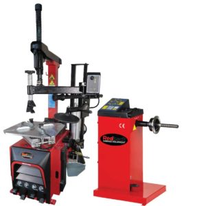 RB221PA and RB109 Tyre changer and wheel balancer
