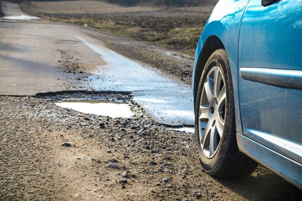 Driving over a pothole can cause some serious damage to your vehicle.