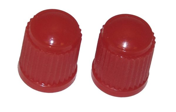 VC8R - Red Plastic Caps Qty 100