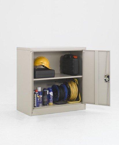 EC101 - Cupboard with 1 Shelf - 1000mm High X 900mm Wide X 450mm Deep