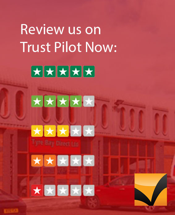 Trust Pilot reviews for Tyre Bay Direct