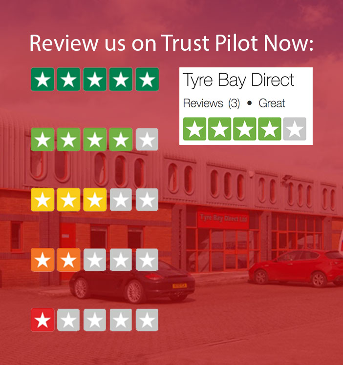Review Tyre Bay Direct on Trust Pilot