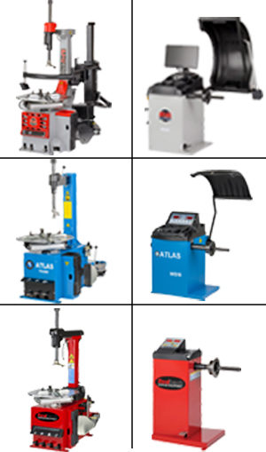 Tyre Changers and Wheel Balancers