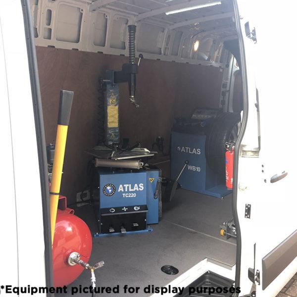 Atlas Mobile Van Install