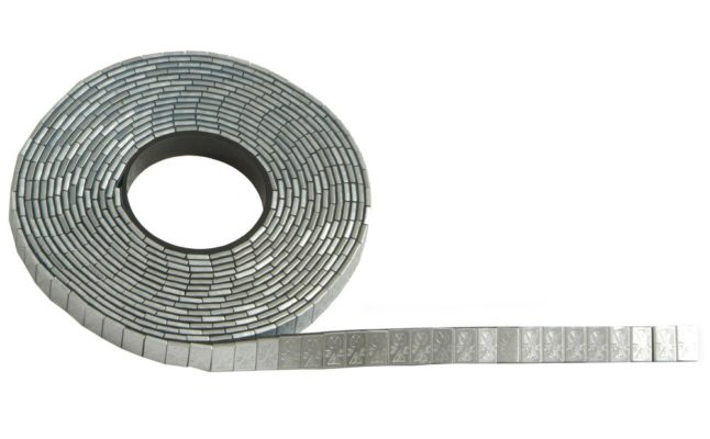 TBDA03-5KG - 5kg Roll of Self Adhesive Stick on Weights - 5g