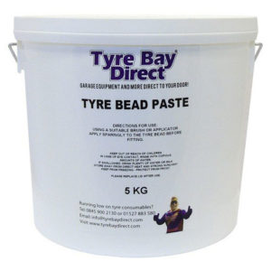 Universal White Tyre Mounting Paste - 5kg Tub